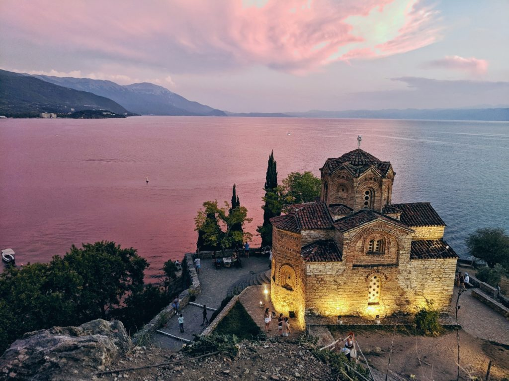 Ohridsko jezero Makedonija