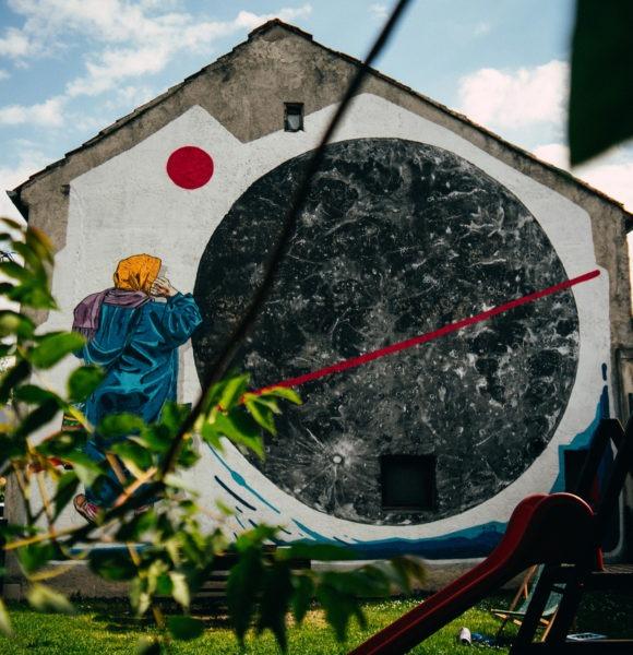 Protiv dosadnih fasada! Baba Luna i gigantski Mjesec uljepšali Zagreb