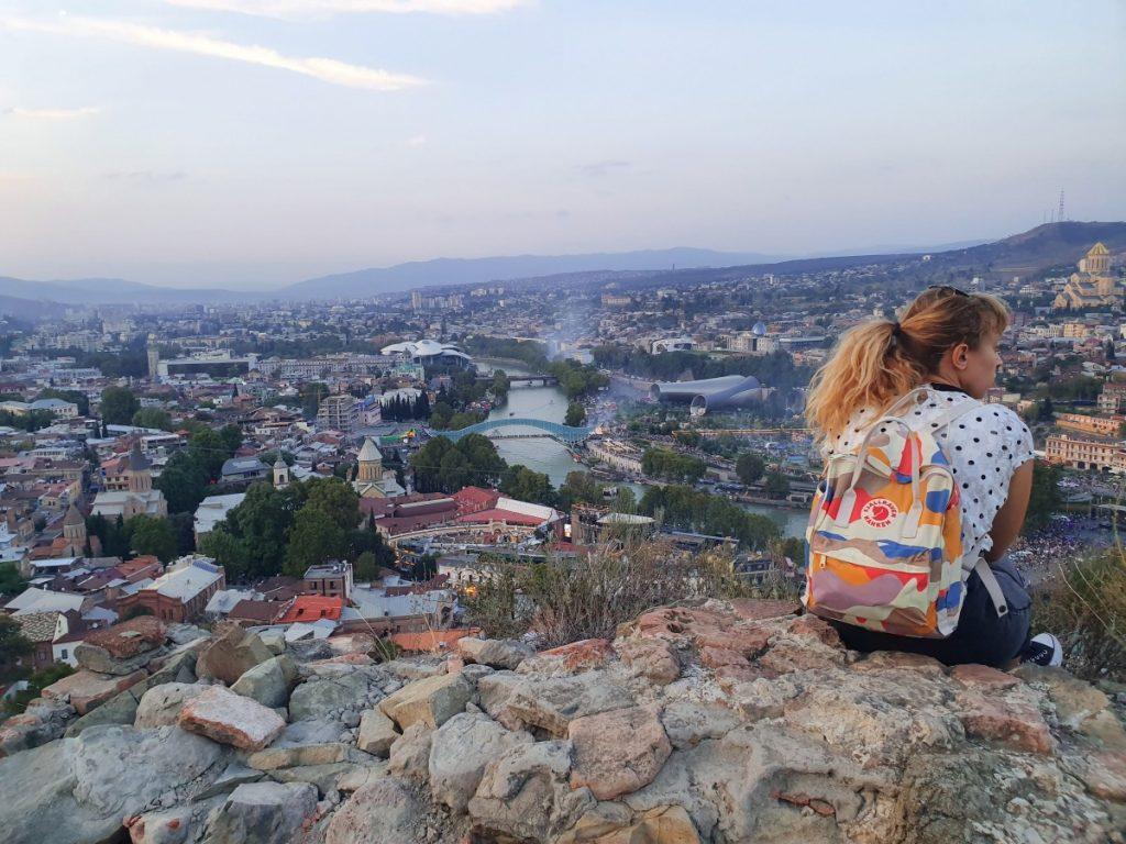 Tbilisi, pogled s Citadele