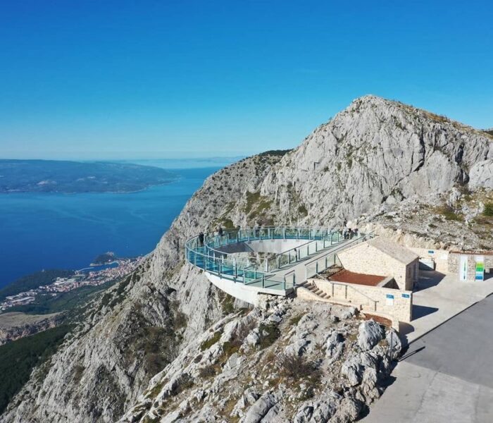 Najljepši hrvatski vidikovac Nebeska šetnica Skywalk na Biokovu je zatvoren